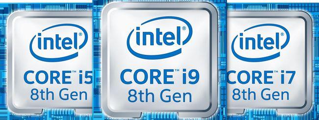 Intel annuncia nuovi processori Coffee Lake