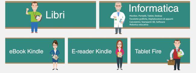 Amazon Carta del docente: guida all'uso