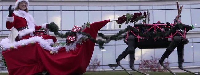 Le renne-robot di Boston Dynamics