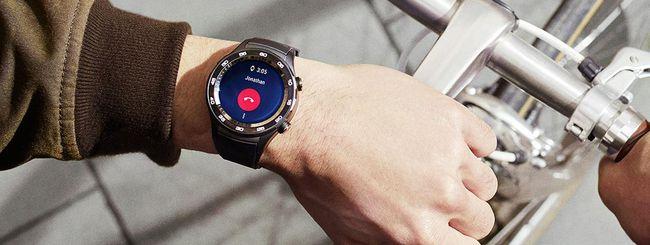 Huawei brevetta uno smartwatch con ghiera touch