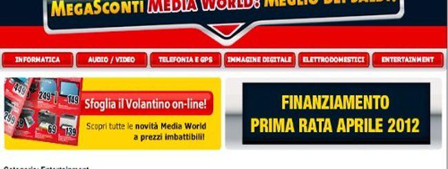 Arrivano i saldi da Mediaworld