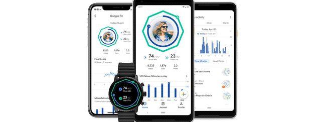 Google Fit, nuovo design e nuove funzionalità