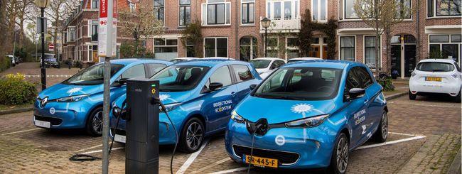Auto elettriche, Renault testa la ricarica bidirezionale