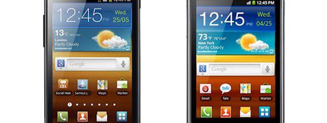 Samsung Galaxy Ace 2 e Galaxy mini 2, specifiche e immagini