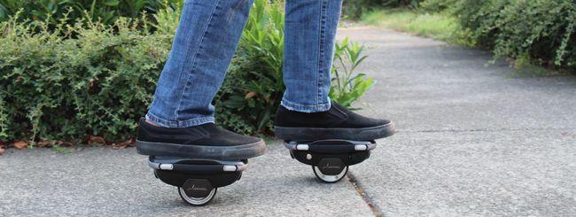 Hoverwheel, e-skates dall'inventore dell'Hoverboard