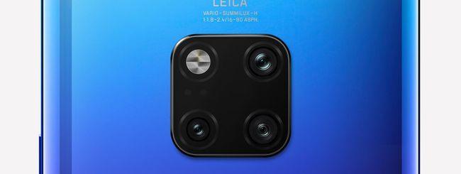 Huawei Mate 30 Lite, immagini dello smartphone