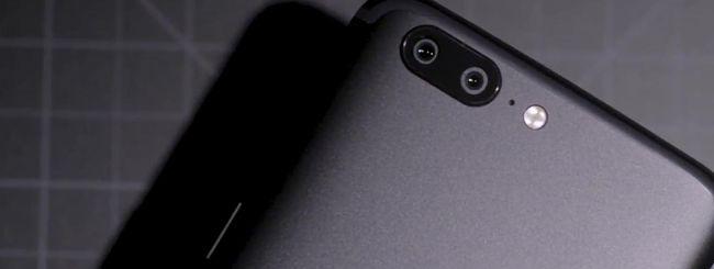 OnePlus 5, doppia fotocamera da 16 e 20 megapixel