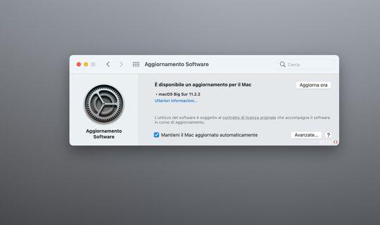macOS Big Sur 11.2.2, migliore compatibilità con Dock e Hub USB