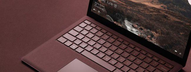 Amazon sconta il Surface Laptop