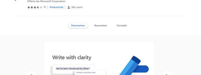 Microsoft Editor: correttore automatico per Chrome ed Edge