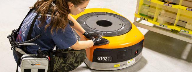 Amazon Robotic Tech Vest, protezione dai robot