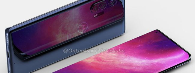 Motorola Edge+, render svela il possibile design