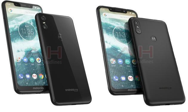 Motorola One (sinistra) e Motorola One Power (destra).