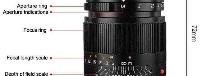 7Artisans: in arrivo un nuovo 28mm f/1.4 per attacco M
