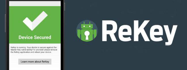 ReKey per Android, patch per il bug delle firme