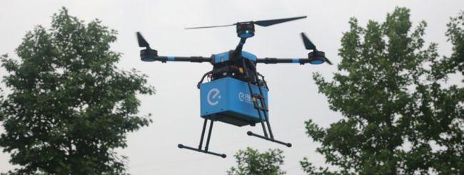 In Cina i droni consegneranno il pranzo