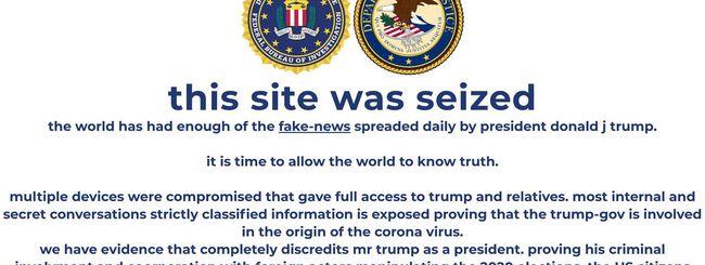 Trump: hackerato il sito della campagna elettorale
