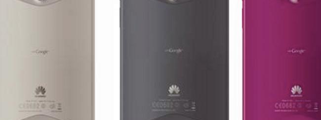 CES 2012: Huawei MediaPad con Android 4 ICS e in nuovi colori