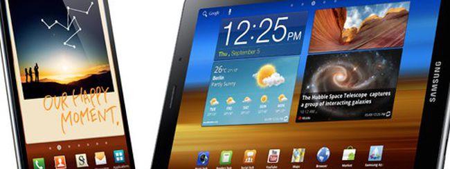 Samsung Galaxy Note e Galaxy Tab 7.7 svelati all'IFA