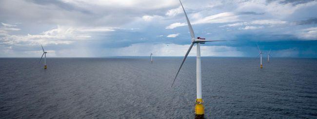 La prima centrale eolica offshore galleggiante