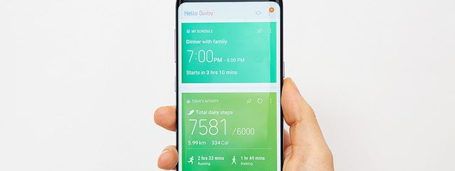 Samsung Galaxy S8: Bixby, assistente intelligente