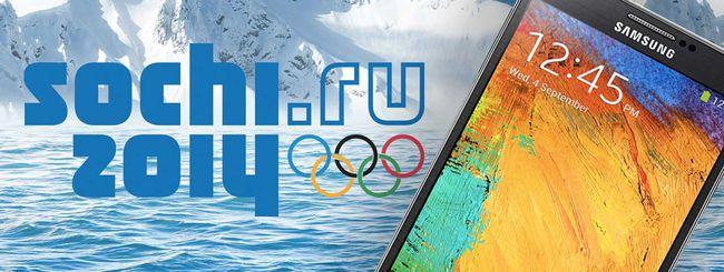 Samsung vieta Apple alle Olimpiadi di Sochi