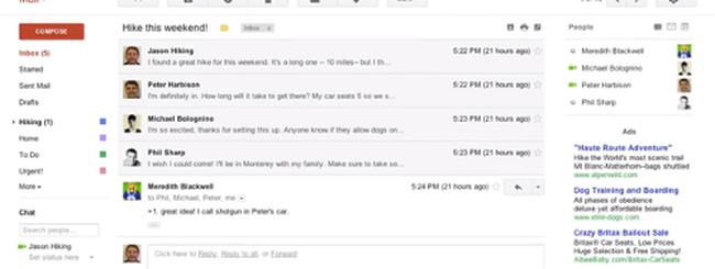 Gmail rinnova l'interfaccia, ecco come sarà