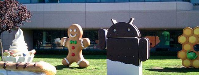 Android 4 Ice Cream Sandwich, arrivano i sorgenti