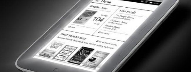 Nook Simple Touch, eBook reader per leggere al buio