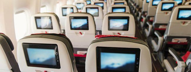Netflix sugli aerei: streaming in alta quota