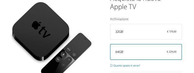 Nuova Apple TV, ordini aperti in Italia ma tanta delusione