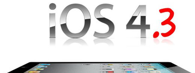 L'iPad 2 introduce iOS 4.3