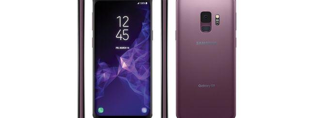 Samsung Galaxy S9, colori e possibili prezzi