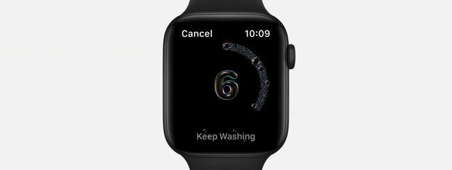 """watchOS 7, attivare e usare correttamente """"Lava le Mani"""""""