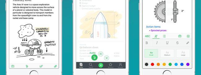 Evernote 8.0 per iOS, velocità e semplicità