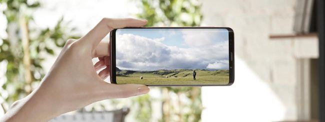Samsung Galaxy S9, effetto cinema