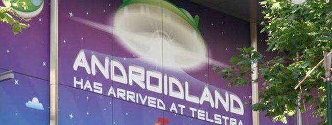 Androidland, il primo store del robottino verde