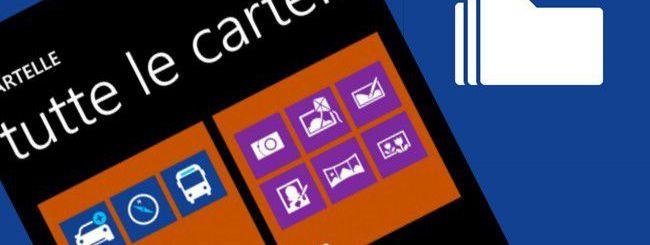 Come creare cartelle su Windows Phone 8