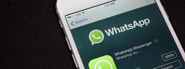 WhatsApp per iOS, filtri e album per foto e video