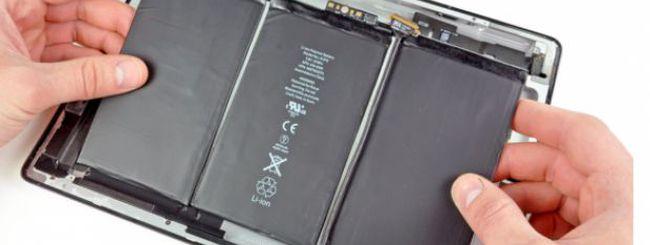 iPad 3: Batterie più sottili e leggere con maggiore autonomia