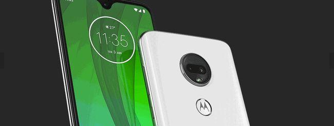 Moto G7, Motorola svela tutte le specifiche