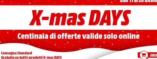 Natale MediaWorld: è tempo di X-mas Days