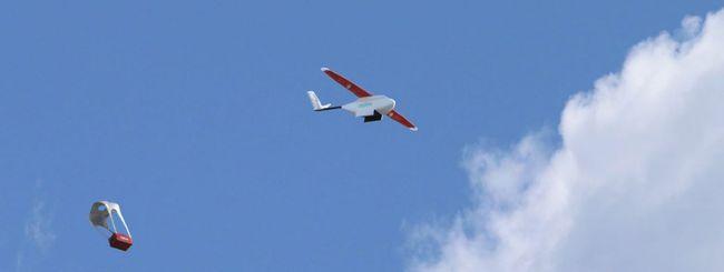 Droni iniziano a consegnare sangue in Ruanda