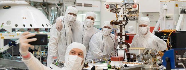 """NASA, il rover Mars 2020 ha finalmente un """"volto"""""""