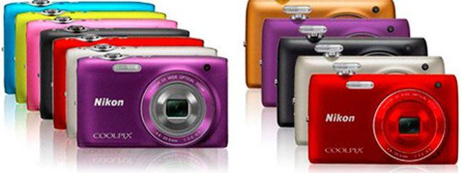 Nikon Coolpix S3100 e S4100: 14 MP colorate e semplici