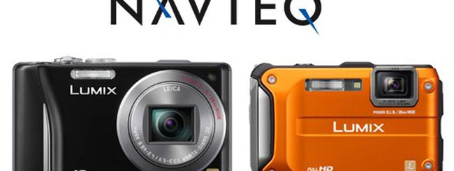NAVTEQ e la geolocalizzazione sulle fotocamere Panasonic Lumix