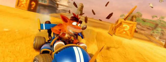 Crash Team Racing: trailer e uscita del remaster