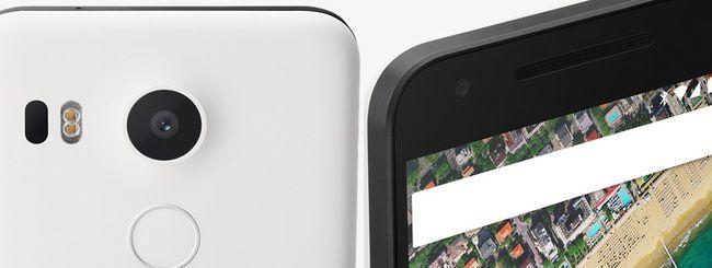Nexus 5X, il nuovo smartphone di Google e LG