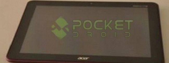 Acer Iconia Tab A200 con Android spunta in foto