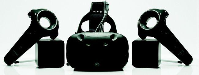 HTC Vive sconta la realtà virtuale
